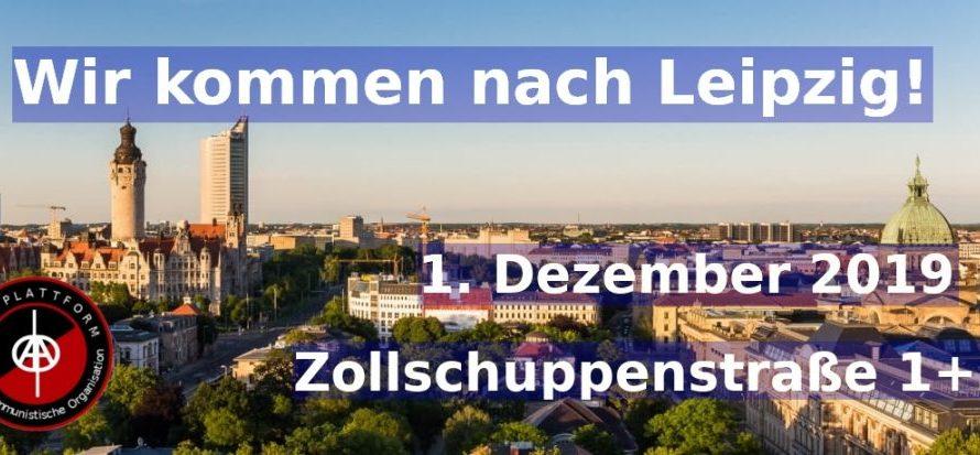 Wir kommen nach Leipzig!