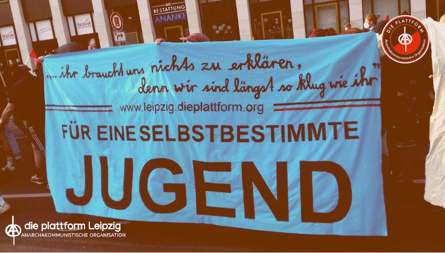 """""""Ihr braucht uns nichts zu erklären!"""" – Unser Redebeitrag zum Tag der Jugend in Leipzig"""